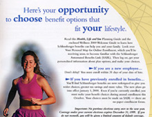 """Schlumberger """"Health, Life and You"""" Campaign"""