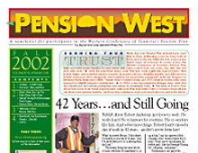 Pension West Newsletter