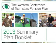 Western Conference of Teamsters Pension Plan Booklet